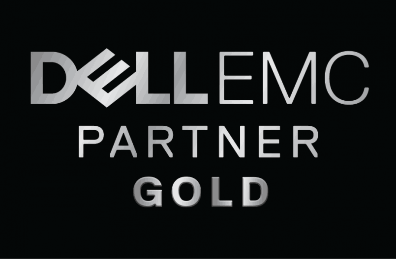 Dell EMC Gold Partner Logo